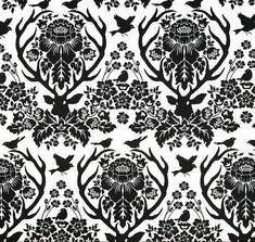 Gorgeous Antler Damask décor-weight fabric from Joel Dewberrys popular Birch Farm collection for Westminster/Free Spirit. 100% cotton sateen material. Perfect for home décor, accent pillows, window panels and more. Stunning white and black fabric. Perfect for spring accents, panel drapes and throw pillows!  The fabric is $9.95 per yard. Half yardage available. Fabric width is 54 inches. All yardage is cut in one continuous piece from fabric bolt. Please use the drop down menu to order th...