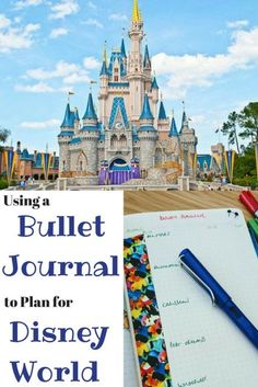 Sharing ideas and inspiration for using a bullet journal to plan your Disney World holiday. There's so much to organise, so keep it all in one place! Disney World Planning, Disney World Vacation, Disney Vacations, Disney Trips, Walt Disney, Bullet Journal 101, Bullet Journal Inspiration, Bullet Journals, Journal Ideas