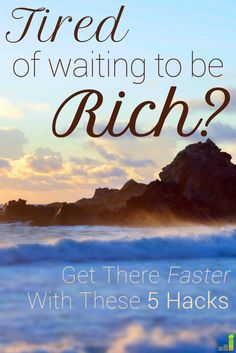 Who DOESN'T want to be rich? I know I do! These tips, especially #3, are going to help me make more!