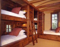 paturi etajate din lemn