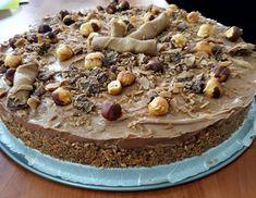 Λαχταριστό τσιζκέικ με νουτέλα !!! ~ ΜΑΓΕΙΡΙΚΗ ΚΑΙ ΣΥΝΤΑΓΕΣ 2 Party Desserts, How To Make Cake, Sweet Recipes, Tiramisu, Cereal, Cheesecake, Deserts, Food And Drink, Cooking Recipes