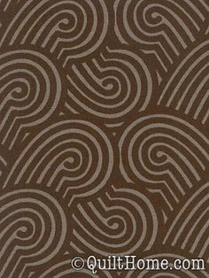 Zen Garden in Espresso from the Sanctuary line by Patty Young. $9.50/yd@QuiltHome