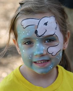 Face Paintings: Face Painting Christmas Designs