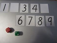 Open ideat: Luukku kiinni-peli (lukukäsite 0-9).
