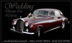 Einmal im Leben eine Rolls Royce fahren. Wenn nicht zur Hochzeit - wann dann? Zu mieten gibts dieses tolle Exemplar unter leipzig-oldtimer.de