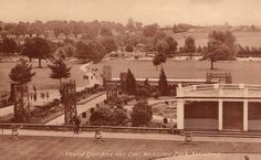 1940's Wicksteed Park Floral Gardens and Lake