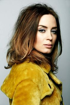 Emily Blunt // hair color