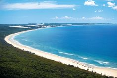 Orchid Bay, Fraser Island - Located on the northern side of Fraser Island, Orchid Beach is considered the more peaceful alternative to the southern resort settlements with no tour buses, day trippers and minimal beach traffic.
