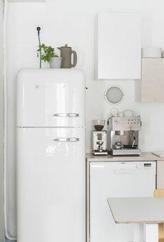 Die 19 Besten Bilder Von Retro Kuhlschrank Kitchen Dining Rooms