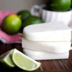 Coconut Lime Yogurt Popsicles--Trim Healthy Mama modification: sub out sugar with pure stevia extract or other sweetener.