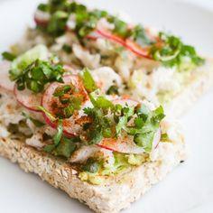 Miami Avocado Toast via @skinnytaste #recipe #toast #Miami #avocado