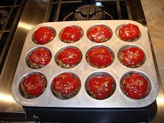 Muffin Tin Meatloaf  The ONLY way to go!