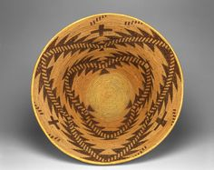 Maidu ~ Northern California, United States | Feasting or Storage Basket, c. 1910 | Plant fibers