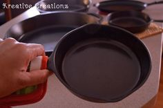 Am I the only one who collects cast iron skillets and never uses them? I had this grand dream of collecting them, cleaning them, cooking with them, and having a…