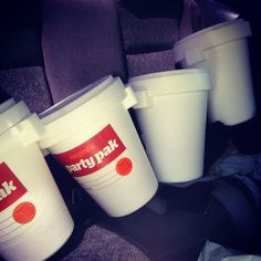 Let The Fun Begin, Dunkin Donuts Coffee, Coffee Cups, Party, Coffee Mugs, Receptions, Parties