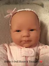 """❤️ Berenguer Realistic 20"""" Baby Doll for Reborn or Play"""
