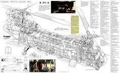Boeing Vertol 360 cutaway