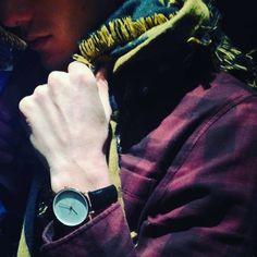 Be yourself #aciigo #madness #elegant #minimalist #watches #watchofinstagram #wristporn #wrist #fashion #paris #crossfit #cross #montre #montres #relojes #reloj #timepiece #timepieces #night #nightlife