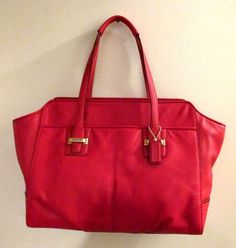 COACH 25205 ~ Taylor ALEXIS CARRY-ALL Leather Bag/Purse ~ RED ~ New/NWT $428 #Coach #TotesShoppers