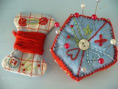 Felted pincushion | Nora | Flickr