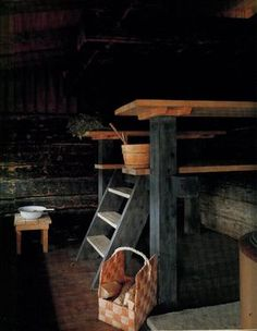 More Secrets of the Finnish Sauna-This reminds of my childhood's first sauna experiences.as I used to go to a public sauna with my father and there used to be a lady washer who washed people's backs.
