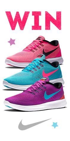 Win a Free Pair of #Nike Free RN Running #Shoes!