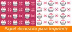 Free printable. Papel decorado para imprimir http://manualidades.euroresidentes.com/2014/01/papel-para-decorar-cajas-y-botes-de.html