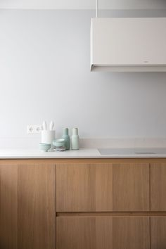 Minimal kitchen | Menu Bottle Grinders available at www.istome.co.uk