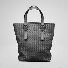 Bottega Veneta Nero Intrecciato Nappa Tote I Replica Handbags 35f26a3978ee2