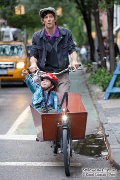 NYC. Biking around Greenwich Village