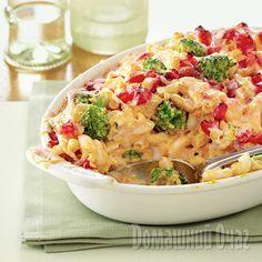 Запеканка из пасты и овощей | Рецепты Вкусно и Полезно