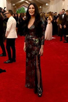 Pin for Later: Get a Load of All the Glamour on the Met Gala Red Carpet! Cher