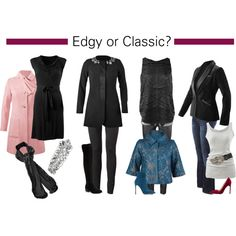 """Edgy or Classic?"" Host your trunk show now and get your holiday outfits and holiday shopping done all at once and at HALF PRICE! www.nancylambros.cabionline.com"