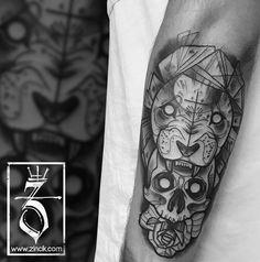 Martin Tattooer Zincik - Czech Tattoo artist , Tetování na předloktí Brno / Praha ,  Sketch Tattoo design