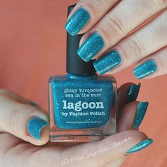 Picture Polish ~ Lagoon #PicturePolish #Lagoon #PicturePolishLagoon #tvdpicturepolish