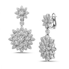 4c76e1972 39 Best Diamond Earrings images in 2019   Quality diamonds, Red gold ...