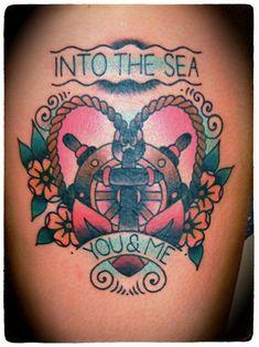 Old school tattoo. #tattoo #tattoos | http://wonderfultatoos.blogspot.com