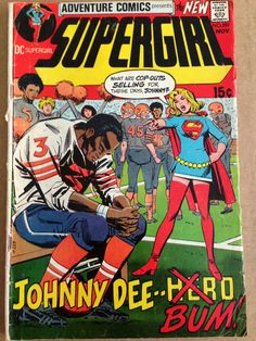 25 hilarious vintage comic book covers book covers comic and dc supergirl adventure comics no 399 nov 1970 fandeluxe Gallery