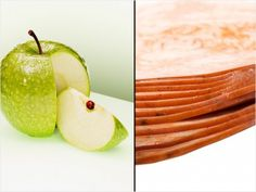 """Turkey with Apple SlicesThis one is easy to find in the fridge: Wrap deli-sliced turkey around apple slices for a no-muss, no-fuss snack. """"This could be my favorite snack!"""" says nutrition expert Cindy Whitmarsh.  """"It's easy, packed with protein to help build muscle and fiber in the apples.  I pack this in my kids' lunches too.""""    Nutritional information for four turkey slices and one medium apple sliced : Approx. 132 calories, 2g fat, 9g protein, 14g sugar, 3g fiber."""