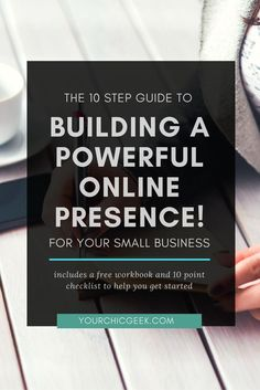 Working on building your online presence?Check out this blog post that covers 10 things that you can do (Includes a FREE 10 step action plan)