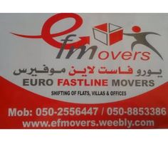 Euro FastLine Movers International And Local Movers and Packers in Dubai Abu Dhabi Sharjah And All. Packing Services, Moving Services, Dubai Houses, Local Movers, House Movers, Office Moving, Professional Movers, Moving And Storage, Job Ads