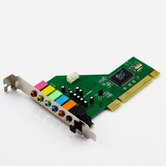 Primeshop-New PCI 8 Channel 8CH 7.1 Sound Card Optical VIA Chipset Work Windows 7 - http://pctopic.com/sound-cards/primeshop-new-pci-8-channel-8ch-7-1-sound-card-optical-via-chipset-work-windows-7/