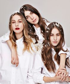 Las hermanas HAIM tendrán programa en Beats1 Radio.