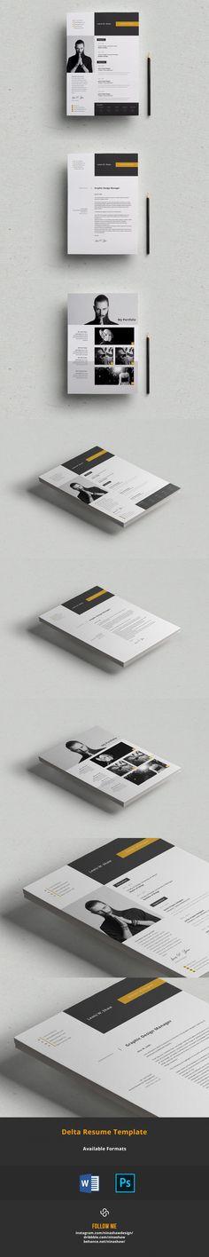 Delta Resume Template #photoshopresume #BestResumeFormat #cv #ResumeTemplateDesign #references #ResumeTemplateDownload #quickresume #coverletter #coverlettertemplate #ResumeHelp #resumetemplate #StationeryTemplates #ResumeFormat #blue #design #blue #StationeryTemplates #BestResumeFormat #msword Sample Resume Templates, Resume Design Template, Cv Template, Stationery Printing, Stationery Templates, Stationery Design, Cv Design, Blue Design, Adobe Indesign