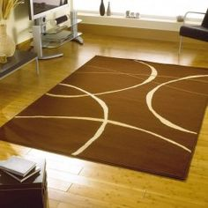 Shop for high quality rugs at great prices. Buy the Retro Classics 9255 Modern Rug - Brown at a great price and get free fast delivery. Cheap Rugs, Modern Rugs, Design Crafts, Kids Rugs, Flooring, Retro, Classic, Brown Rugs, Home Decor