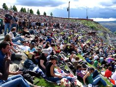 Sasquatch Music Festival in Quincy, Washington    sasquatch    Kicking off the summer music festival season, the three day, Memorial Day weekend Sasquatch Music Festival is held at The Gorge near Seattle, WA.  A fantastic venue in the rolling hills of Central Washington, this event features indie musical acts such as Vampire Weekend, The Posies, Massive Attack and Band of Horses, all set against the stunning backdrop of the Columbia River Gorge. Most people camp out for all three days and…