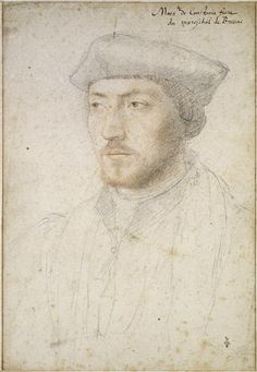 Portrait de Philippe de Cossé, évêque de Coutances en 1530, grand aumônier de France en 1547, 1540 Jean Clouet