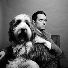 Elijah Wood and friend. I wonder if this is his real life Wilfred?