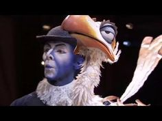The Lion King on Broadway - Masks and Puppets --- VERY interesting interpretations on masks are seen in this video!