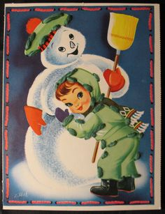 Frosty the snowman adorable